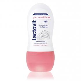 Desodorante roll-on piel sensible Lactovit 50 ml.