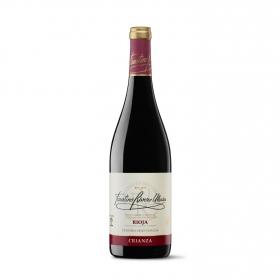Vino D.O. Rioja tinto crianza Faustino Rivero 75 cl.