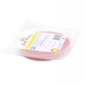 Mortadela de pavo lonchas ElPozo envase 180 g