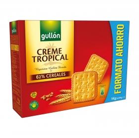 Galletas Creme Tropical  Gullón 1 kg.