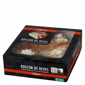 Roscón de reyes pequeño Carrefour 420 g