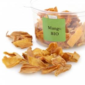 Mango ecológico en rodajas Carrefour granel tarrina 125 g