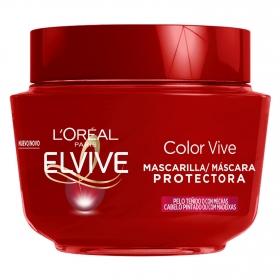 Mascarilla capilar color vive L'Oréal Elvive 300 ml.
