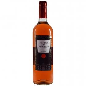 Vino rosado Marqués Dospala botella 75 cl.