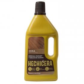 Cera efecto barniz para parquet y suelos de madera Hechicera 750 ml.