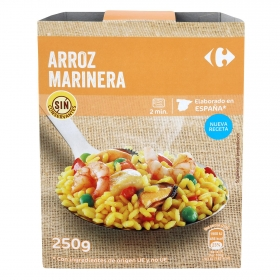 Arroz marinera Carrefour 250 g.