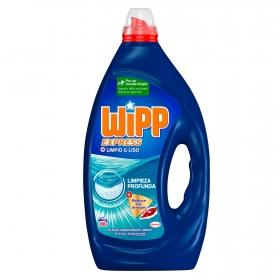 Detergente líquido Limpio & Liso Wipp Express 66 lavados.
