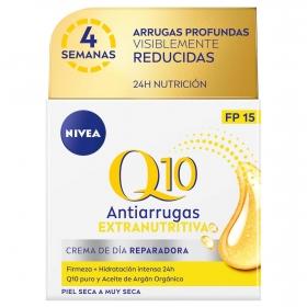 Crema de día antiarrugas Q10 Power Nivea 51 ml.