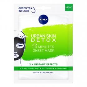 Mascarilla detox Urban Skin Nivea 28 ml.
