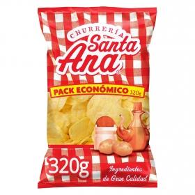 Patatas fritas churrería Santa Ana sin gluten 320 g.