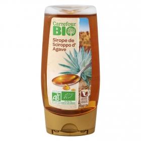 Sirope de agave ecológico Carrefour Bio 250 ml.