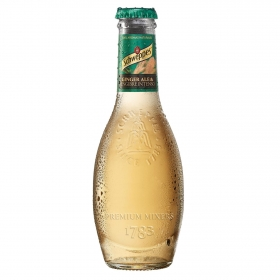 Ginger Ale Schweppes intenso premium botella 20 cl.