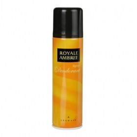 Desodorante en spray Royal Ambree 250 ml.