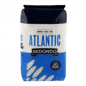 Arroz redondo Atlantic 1 kg.