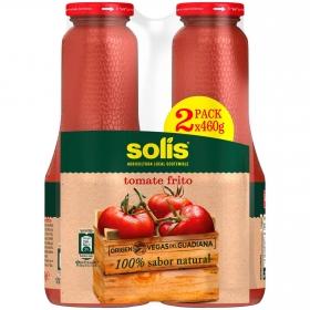 Tomate frito Solís sin gluten y sin lactosa pack 2 tarros de 460 g.