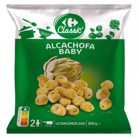 Alcachofas baby Carrefour 300 g.