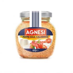 Salsa pesto calabrese Agnesi tarro 185 g.