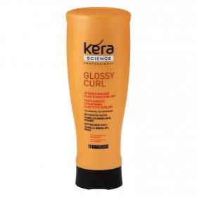 Acondicionador Elasticidad Sublime para cabello ondulado, rizado Les Cosmétiques -Kera Science 400 ml.