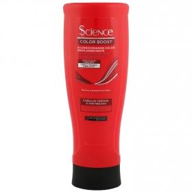 Acondicionador Resplandor Absoluto para cabello teñido, con mechas Les Cosmétiques -Kera Science 400 ml.