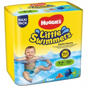 Bañador Desechables Huggies® Little Swimmers (7-15 kg) 20 uds