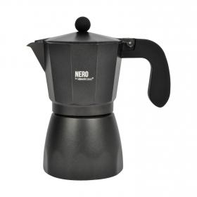 Cafetera Aluminio 6 tazas - Negras
