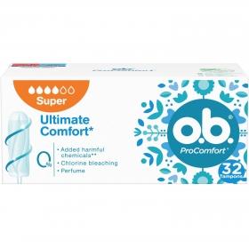 Tampones superplus ProComfort O.B. 32 ud.