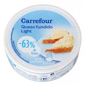 Queso fundido Light porciones 16 ud. Carrefour 250 g.