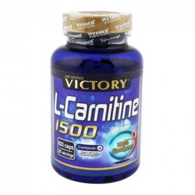 Complemento alimenticio L-Carnitine Victory 100 cápsulas.