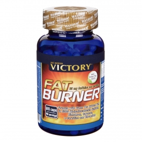 Complemento alimenticio  Fat Burner Victory 100 cápsulas.