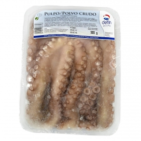 Pulpo crudo 900 g.