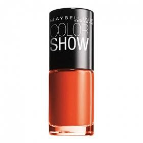 Laca de uñas ColorShow nº 341 orange attack Maybelline 1 ud.