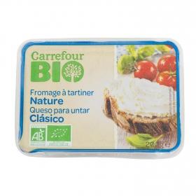 Queso de untar ecológico Carrefour Bio 200 g.