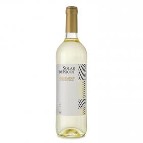 Vino blanco semi-dulce Solar de Ricot botella 75 cl.