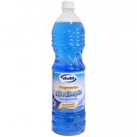 Fregasuelos perfumado Aire Limpio Chubb 1,5 l.