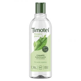 Champú Fresco y Puro para cabello normal a graso Timotei 400 ml.