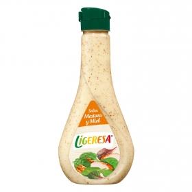 Salsa miel y mostaza Ligeresa envase 450 ml.