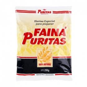Harina para preparar Puritas 250 g.