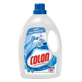 Detergente líquido Blancura impecable Colon 90 lavados