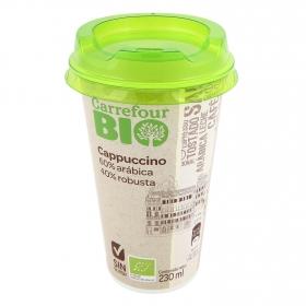 Café latte cappuccino Carrefour Bio sin gluten 230 ml.