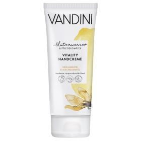 Crema de manos vainilla y macadamia Aldo Valdini 75 ml.