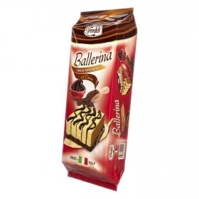 Bizcocho relleno de cacao Ballerina Freddi 200 g.