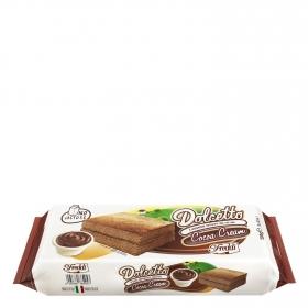 Bizcocho relleno de cacao Dolcetto Freddi 200 g.