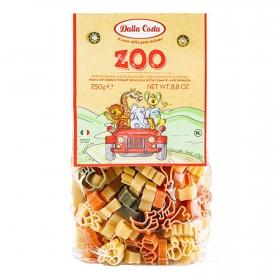 Pasta de animales de tomate y espinacas Dalla Costa 250 g.