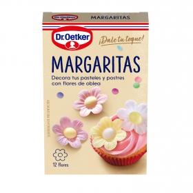 Margaritas de obleas comestibles Dr. Oetker 420 g.