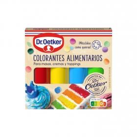 Colorantes alimentarios Dr. Oetker 40 g.