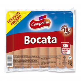 Salchicha Hot Dog Campofrío 1 kg.
