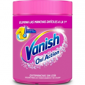 Quitamanchas ropa de color en polvi 4 Vanish Oxi-Action 900 g.
