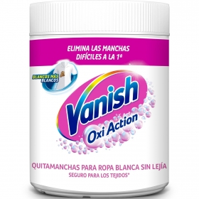 Quitamanchas ropa blanca en polvo 5 Vanish Oxi-Action 900 g.