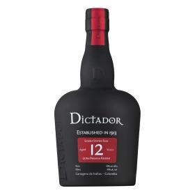 Ron 12 años Dictador 70 cl.