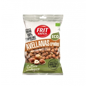 Avellana con piel cruda ecológica Frit Ravich 110 g.